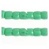 3 Cut Beads 10/0 Opaque Medium Dark Green
